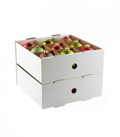 Corrugated Ornament Trays Stack And Keep Ornaments Protected And Easy To  Access. We Suggest Storing