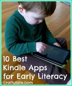 10 Best Kindle Apps for Early Literacy - Craftulate Para empezar a leer