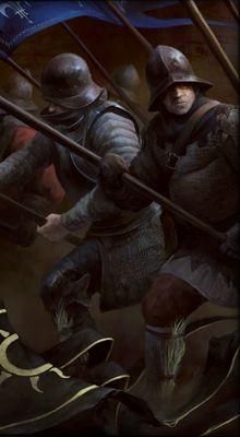 Gwent cardart Poor Infantry