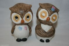 Vintage Owl Salt & Pepper Shakers Made in Korea  @MagnumVintage&Thrift