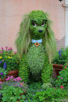 PUPPY DOG GARDEN ART