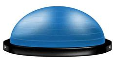 "How many times have you wandered by one of those BOSU ball things in the gym and wondered, ""what do I do with that? Dumbbell Bicep Curl, Ball Storage, Storage Rack, Spin Bike Workouts, Body Makeover, Bosu Ball, Stability Ball, Dumbbell Workout, Workout Exercises"