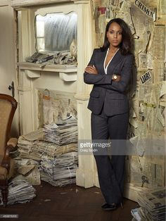 SCANDAL - ABC's 'Scandal' stars Kerry Washington as Olivia Pope.