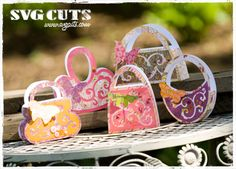 Sunny Weekend Purses SVG Kit