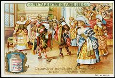 1630 Drawing - French Aristocrats Dance by Mary Evans Picture Library Dancing Drawings, Reproduction, World War Two, Trading Cards, Art Boards, The Past, Mary, Victorian, Kawaii