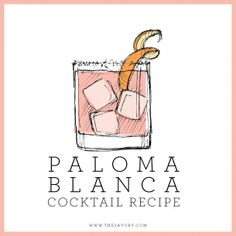 For any Paloma Blanca bride-to-be's, this would be a perfect signature cocktail to match your dress! <3