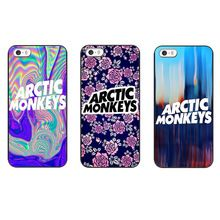 2015 the new arrival flowers sales arctic monkeys psychedelic hard black shell for iPhone 4 4 s 5 5 s 5 c 6 6 plus free shipping