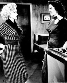 """""""Marilyn Monroe and Jane Russell in Gentlemen Prefer Blondes."""""""