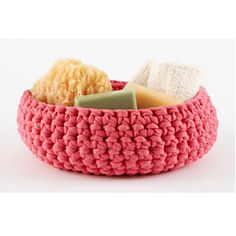 Ravelry: Large Crocheted Bowl  #L10723 pattern by Lion Brand Yarn