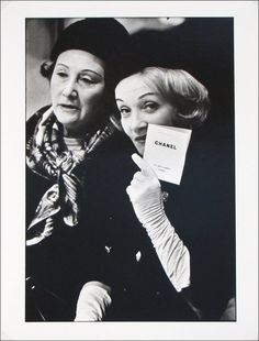 Marlene Dietrich at Chanel, photographed byShahrokh Hatami.