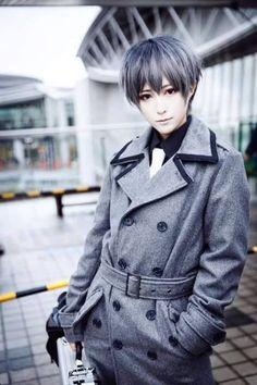 cosplay Tokyo Ghoul: Haise Sasaki. #halloween