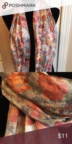 Scarf Excellent condition. 10 day sale and will be donated if not sold by 11 /20. Sold as is and price is firm. Accessories Scarves & Wraps