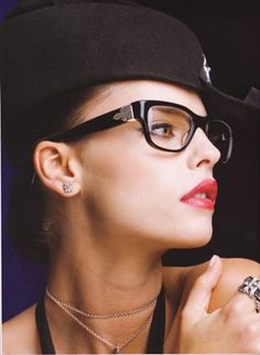 Chrome Hearts makes fantastic goth-inspired frames like these..
