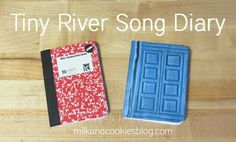 Printable diary cover