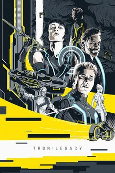 TRON Legacy Movie Fan Art Poster