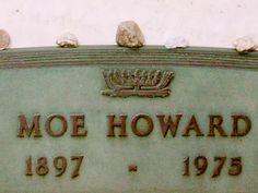 Moe - The Three Stooges Gravesites