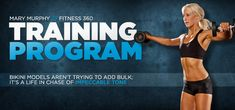 Fitness 360: Mary Murphy, Raising The Bar Higher: Training & Workout Routines --- ideal NOT bulky