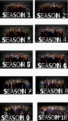 Criminal minds cast through the years...Season 5 & 7 have always been my favorite cast pictures.