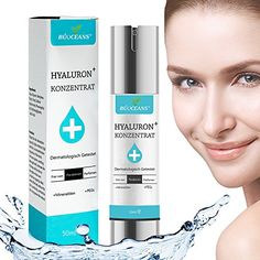 Hyaluronic Acid Serum for Skin Professional AntiAging Facial Hydrating Serum with Vitamin C Moisturizer Nongreasy Paraben Free Reduces Wrinkles Fine Lines for Younger Looking Skin 17 fl oz -- Click image for more details. (This is an affiliate link) Anti Aging, Hydrating Serum, Younger Looking Skin, Hyaluronic Acid, Creme, Moisturizer, Facial, Skin Care, Paraben Free