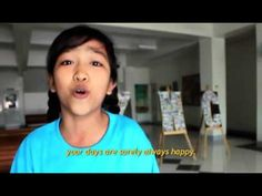 Twelve-year-old Georgina from Manila, Philippines, sings her favorite YHC song, instructing children in how to be happy and healthy.