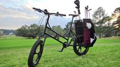 "Golf Bike provides ""greens"" transportation"