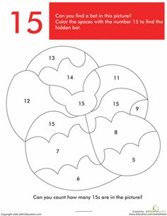 Worksheets: What's Hiding in the Numbers?: 15