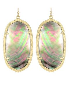 Danielle Earrings in Black Pearl - Kendra Scott Island Escape preview, in stores and online April 24, 2013 at 5pm CST.