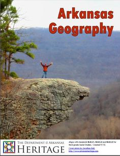 ARKANSAS GEOGRAPHY - Digital workbook aligning with standards G.8.3.1,G.8.3.2 and G.8.3.3 for third grade Social Studies. - Comes with PowerPoint, Reading Review, and a Reader filled with literacy, vocabulary, crafts, songs, writing prompts and further resources.  Find the PowerPoint and Reading Review at http://www.arkansasheritage.com/Learn/dah-educational-resources  Arkansas History Lesson Plan