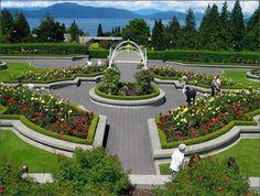 UBC ROSE GARDEN  University of British Columbia Campus, Vancouver, BC