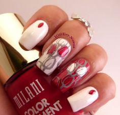 #tulips #tulipsnails #nailart #stamping #nailart #mani #uñas #diseñodeuñas #uñasestampadas #sexynails #moda #estilo #style #fashion