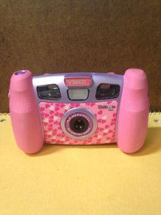 Pink V-tech Camera Kidzoom Plus