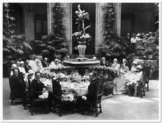 Cornelia Vanderbilt's wedding breakfast at Biltmore Estate
