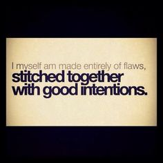 Flaws...