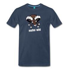 Das Shirt ist für alle bockigen Mufflon-Fans unter Euch...Mit samtigem Flockdruck für extreme Langlebigkeit!