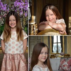 New portraits of Princess Isabella of Denmark released to celebrate her 9th birthday taken by her Mum, Princess Mary!