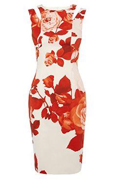Oversize floral dress