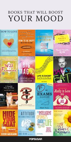 Books That Will Boost Your Mood