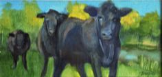 A resting dairy cow, carefully groomed and loved by her teenage 4-H keeper, is as beautiful as an odalisque, and probably a better conversationalist.  http://watchmepaint.blogspot.com/2014/04/art-that-moves-me.html