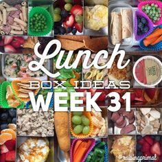 lunch box week 31