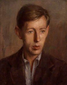 Portrait of Laurie Lee, 1944 by Anthony Devas (British 1911-1958)