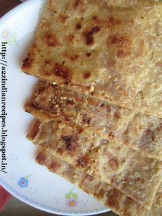 a2zindianrecipes: Groundnut Jaggery Paratha / Gul Poli
