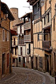 Calles de Frías/Streets of Frias, Burgos, Spain