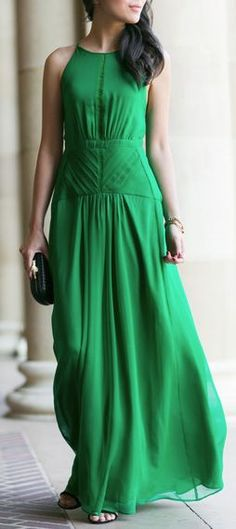 Emerald gown - reminds me of the one from Atonement