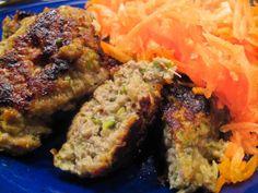 Fiberrige frikadeller med squash og hvidløg Meatloaf, Squash, Carne, Gluten, My Favorite Things, Food, Gray, Pumpkins, Gourd