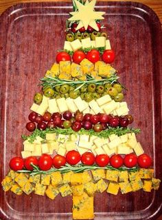 Cheese #Christmas #Tree #Christmas_Party Food. http://www.alliswall.com/