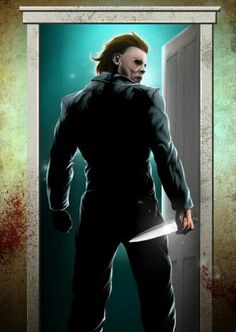 Michael Myers by Damon Bowie Best Halloween Movies, Halloween Film, Halloween Horror, Halloween Magic, Horror Movie Characters, Slasher Movies, Horror Villains, Horror Icons, Horror Films