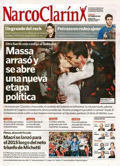 """Carrió se mostró dolida porque el Grupo Clarín apoya a Massa, a quien vinculo con el """"narcotrafico"""", dice que propone un estado """"narco"""" y que le financian la campaña, los propios """"narcos"""" http://elclubdelasnoticias.blogspot.com.ar/2014/10/carrio-se-mostro-dolida-porque-el-grupo.html"""