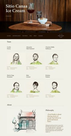 Best About Pages – Showcasing the best of the best about pages on the web » Food Studio