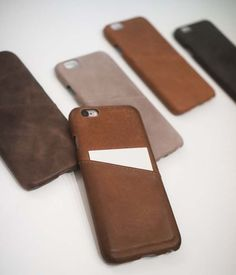 The Handmade iPhone 6s Case with an Integrated Slim Card Holder