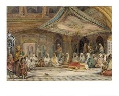 In Paintings: Golden Temple (Harmandir Sahib) Amritsar Islamic Paintings, Indian Art Paintings, Art Gallery Uk, Watercolor Paintings Nature, Harmandir Sahib, Shri Guru Granth Sahib, Golden Temple Amritsar, Cafe Art, Indian Heritage
